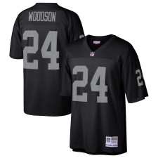 Charles Woodson Oakland Raiders Mitchell & Ness Retired Player Legacy Replica Trikot - Schwarz