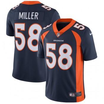 Von Miller Denver Broncos Nike Vapor Untouchable Limited Player Trikot - Marine
