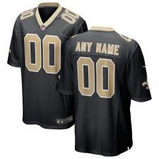 New Orleans Saints Nike Custom spiel Trikot - Schwarz,NFL Trikot Günstig