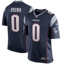 Antonio Brown New England Patriots Nike Kinder Spieler Spiel Trikot - Marine