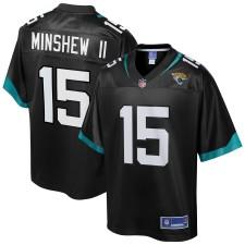 Jacksonville Jaguars Gardner Minshew II NFL Pro Line Schwarz Spieler Trikot