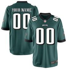 Philadelphia Eagles Nike Custom Spiel Trikot - Mitternachtgrün