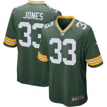 Aaron Jones Green Bay Packers Nike Spieler Spiel Trikot - Grün