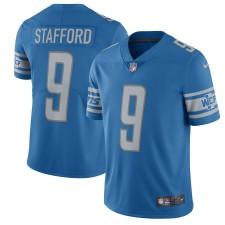 Herren Detroit Lions Matthew Stafford Nike Blau 2017 Vapor Untouchable Begrenzt Spieler Trikot