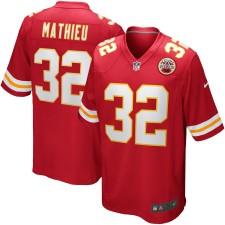 Herren Kansas City Chiefs Tyrann Mathieu Nike Rot Spiel Trikot
