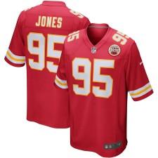 Kansas City Chiefs Chris Jones Nike Rot Spieler Spiel Trikot