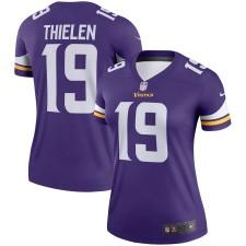 Adam Thielen Minnesota Vikings Nike Damen Legende Trikot - lila