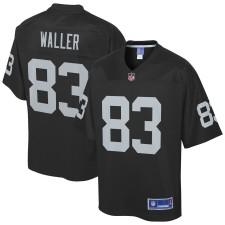 Darren Waller Oakland Raiders NFL Pro Line Team Spieler Trikot - Schwarz