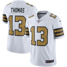 Michael Thomas New Orleans Heiligen Nike Vapor Unberührbare Farbe Rush Limited Spieler Trikot - Weiß