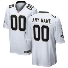 New Orleans Saints Nike Custom Spiel Trikot - Weiß
