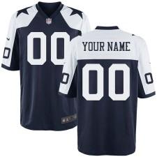 Nike Herren Dallas Cowboys Customized Throwback Spiel Trikot