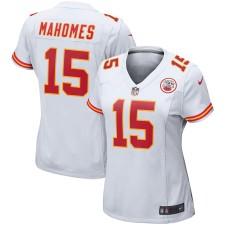 Nike Patrick Mahomes Kansas City Chiefs Weißes Spieler-Spiel Trikot für Frauen