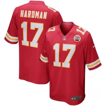 Rotes Nike Mecole Hardman Kansas City Chiefs-Spiel Trikot