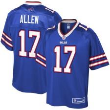 Das Buffalo Bills Josh Allen NFL Pro Line Royal Player-Trikot für Herren