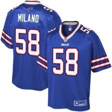Herren Buffalo Bills Matt Milano NFL Royal Player Pro Line Trikot