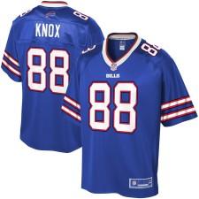Das Buffalo Bills Dawson Knox NFL Pro Line Royal Player-Trikot für Herren