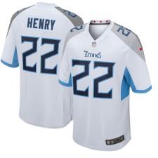 Derrick Henry Tennessee Titans Nike Neue 2018 Spiel Trikot - Weiß
