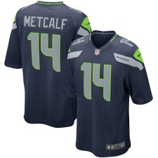 DK Metcalf Seattle Seahawks Nike Spiel Trikot - Marine