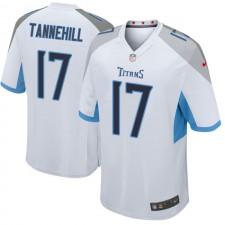 Herren Tennessee Titans Ryan Tannehill Weiß Spiel Trikot von Nike