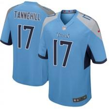 Herren Tennessee Titans Ryan Tannehill Hellblau Spiel Trikot von Nike