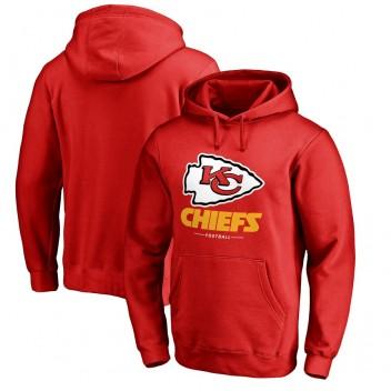Kansas City Chiefs NFL Pro Line von Fanatics Branded Team Lockup Pullover Hoodie - rot