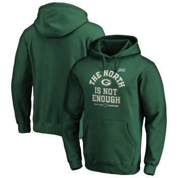 Green Bay Packers NFL Pro Line von Fanatics Branded 2019 NFC North Division Champions Cover zwei Pullover Hoodie - grün