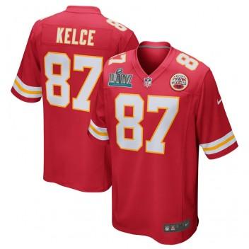 Travis Kelce Kansas City Chiefs Nike Super Bowl LIV Gebunden Spiel Trikot - rot