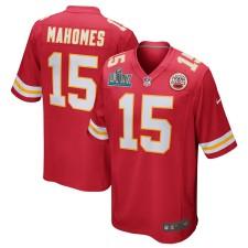 Patrick Mahomes Kansas City Chiefs Nike Super Bowl LIV Gebunden Spiel Trikot - rot
