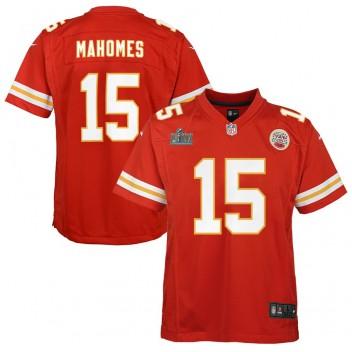 Patrick Mahomes Kansas City Chiefs Nike Kinder Super Bowl LIV Gebunden Spiel Trikot - Rot