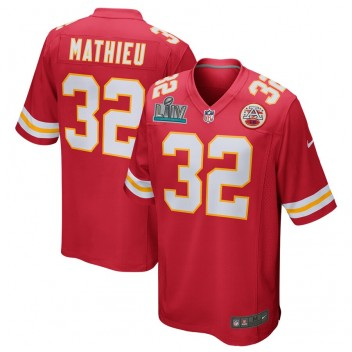 Tyrann Mathieu Kansas City Chiefs Nike Super Bowl LIV gebunden Spiel Trikot - rot