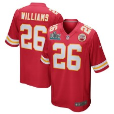 Damien Williams Kansas City Chiefs Nike Super Bowl LIV Gebunden Spiel Trikot - Rot