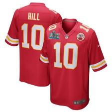 Tyreek Hill Kansas City Chiefs Nike Super Bowl LIV Gebunden Spiel Trikot - rot