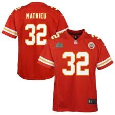 Tyrann Mathieu Kansas City Chiefs Nike Kinder Super Bowl LIV gebunden Spiel Trikot - Rot