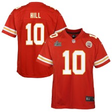 Tyreek Hill Kansas City Chiefs Nike Youth Super Bowl LIV Gebunden Spiel Trikot - rot