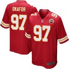 Kansas City Chiefs Rot Alex Okafor Herren Trikot