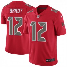 Tom Brady Tampa Bay Buccaneers Männer begrenzte Farbrausch Nike Jersey - Red