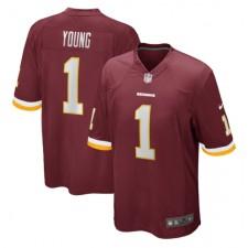 Chase Young Washington Redskins Nike 2020 NFL Draft Erste Runde Pick Spiel Trikot - Burgund