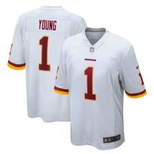 Chase Young Washington Redskins Nike 2020 NFL Draft Erste Runde Pick Spiel Trikot - weiß