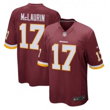 Terry McLaurin Washington Redskins Nike Spiel spieler Trikot - Burgund