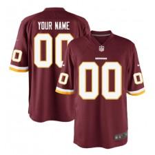 Washington Redskins Nike Customized Spiel Trikot - Burgund