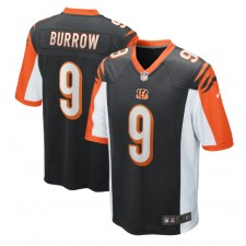 Joe Burrow Cincinnati Bengals Nike 2020 NFL Draft Erste Runde Pick Spiel Trikot - Schwarz