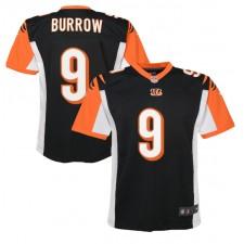 Joe Burrow Cincinnati Bengals Nike Kinder 2020 NFL Draft Erste Runde Pick Spiel Trikot - Schwarz