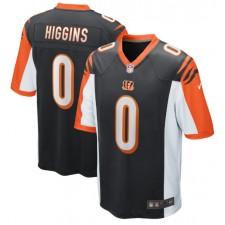 Tee Higgins Cincinnati Bengals Nike 2020 NFL Draft Pick Spiel Trikot - Schwarz