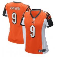 Joe Burrow Cincinnati Bengals Nike Damen 2020 NFL Draft Erste Runde Pick Spiel Trikot - Orange