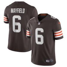 Baker Mayfield Cleveland Browns Nike Vapor Limited Spieler Trikot – Braun