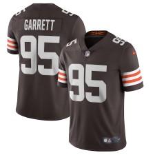 Myles Garrett Cleveland Browns Nike Vapor Limited Trikot - Braun