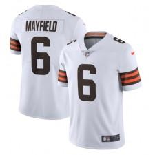 Baker Mayfield Cleveland Browns Nike Vapor Limited Trikot – Weiß
