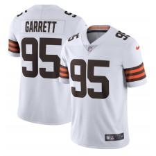 Myles Garrett Cleveland Browns Nike Vapor Limited Trikot – Weiß