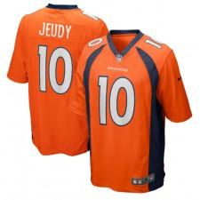 Jerry Jeudy Denver Broncos Nike 2020 NFL Draft Erste Runde Pick Spiel Trikot - Orange
