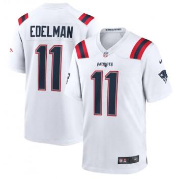 Julian Edelman New England Patriots Nike Spiel Trikot - Weiß